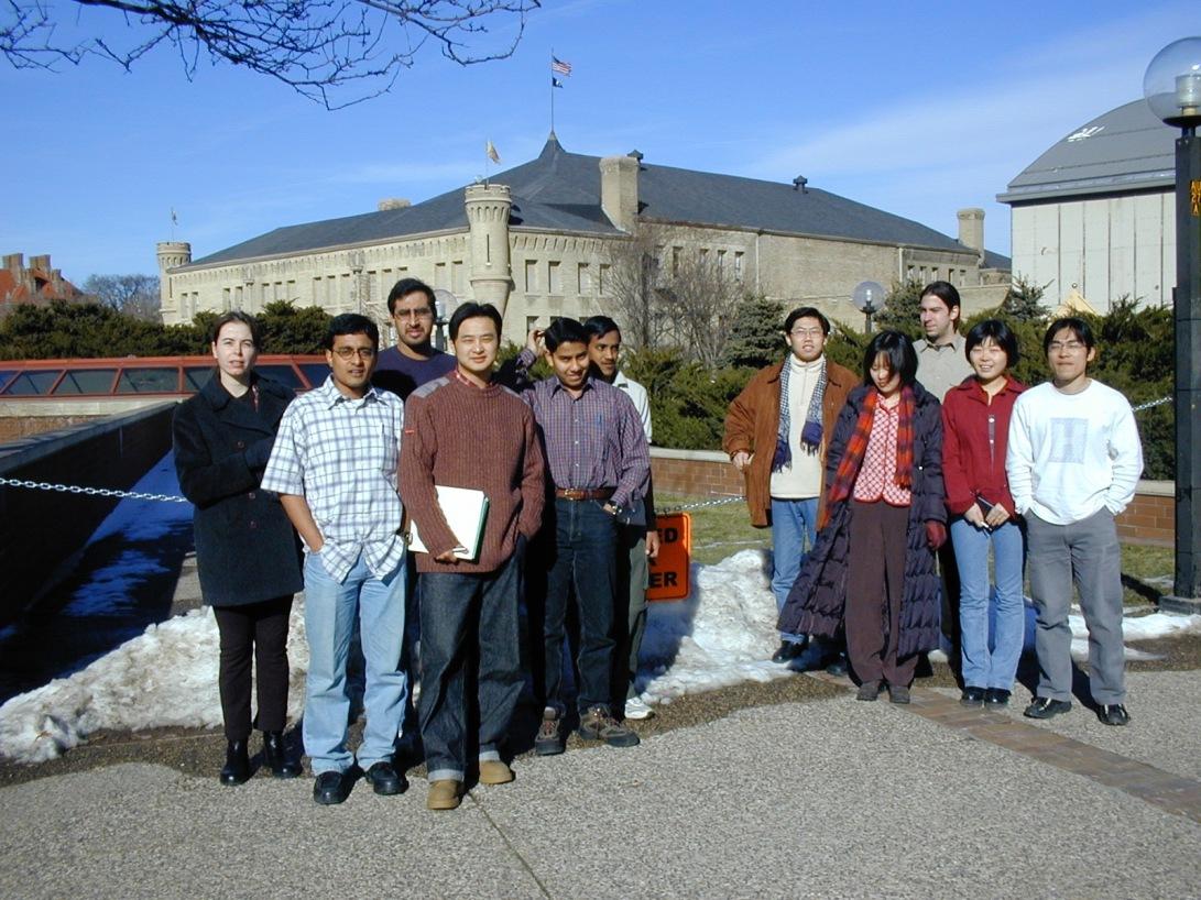 Students: Kasia, Satya, Atif, Lei, Shantanu, Ramachandra, Xi, Wei, Peter, Hong, Yao